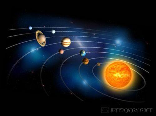 dibujo del sistema solar