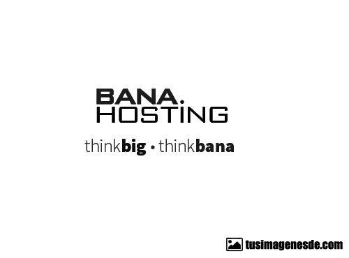 BanaHosting logotipo